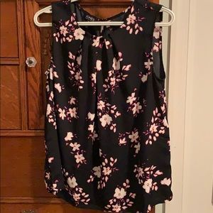 Business Casual Floral Blouse